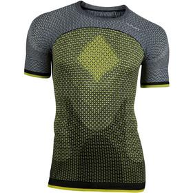 UYN Running Alpha OW SS Shirt Men Tonic Yellow/Sleet Grey
